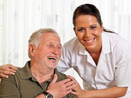 Gute Absicherung im Pflegefall