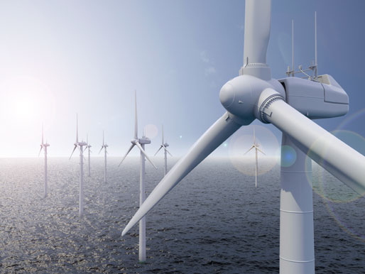 Windrad: Offshore Windpark