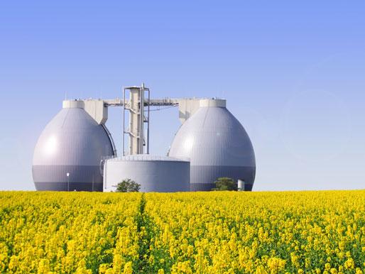 Biogas Anlage