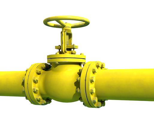 Gasleitung abdrehen