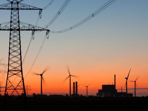 Strom aus dem Kraftwerk